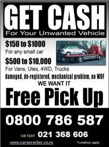 Car Wreckers Manukau South Auckland