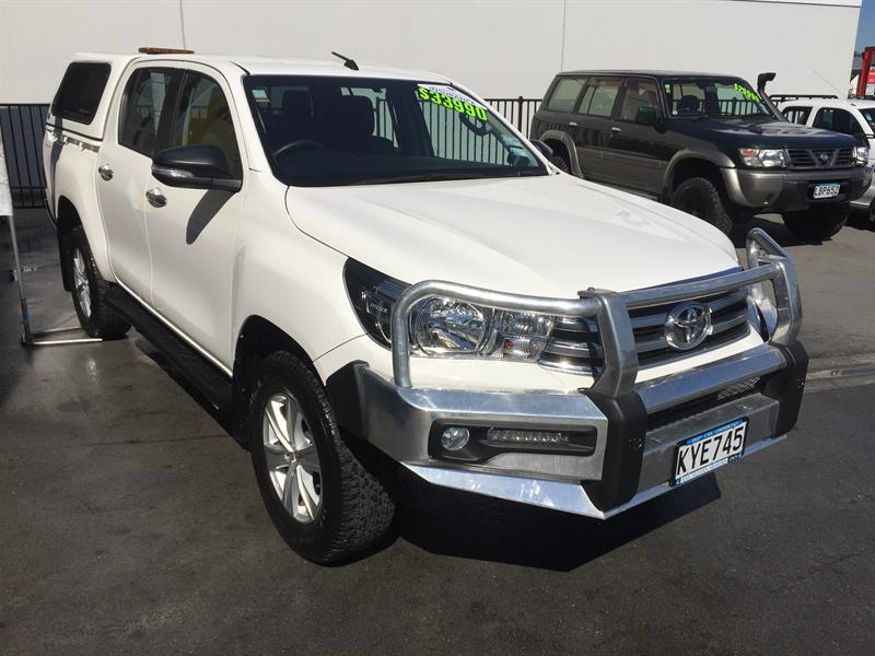 Toyota 4x4 Wreckers Auckland