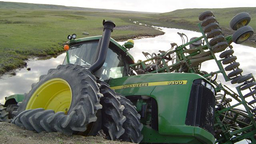 Agricultural Machinery Wreckers
